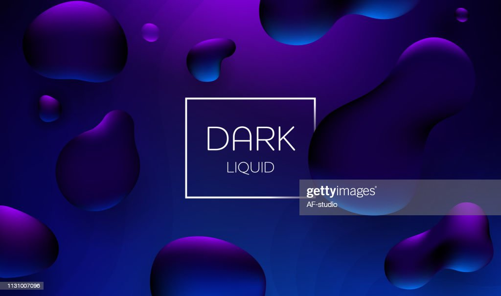 Abstract Liquid Background : stock vector