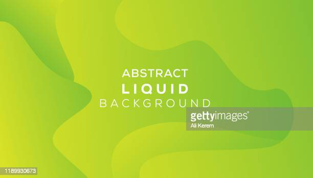 abstract liquid background - green background stock illustrations
