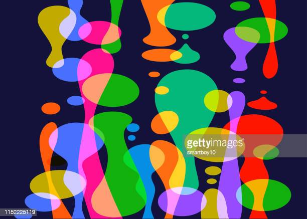 abstract liquid shapes - lava stock illustrations, clip art, cartoons, & icons