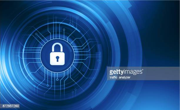 abstract lock background - personal information stock illustrations, clip art, cartoons, & icons