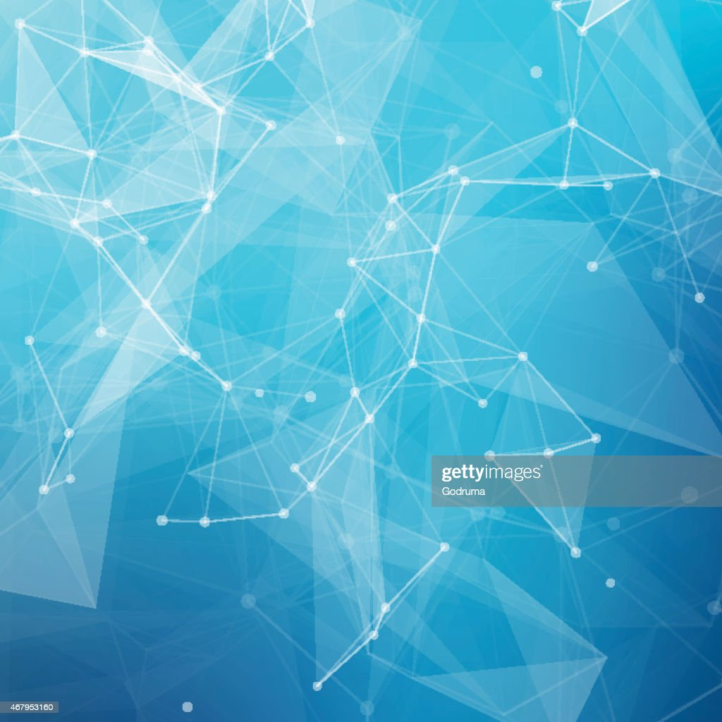 Abstract low poly grey bright technology vector background.