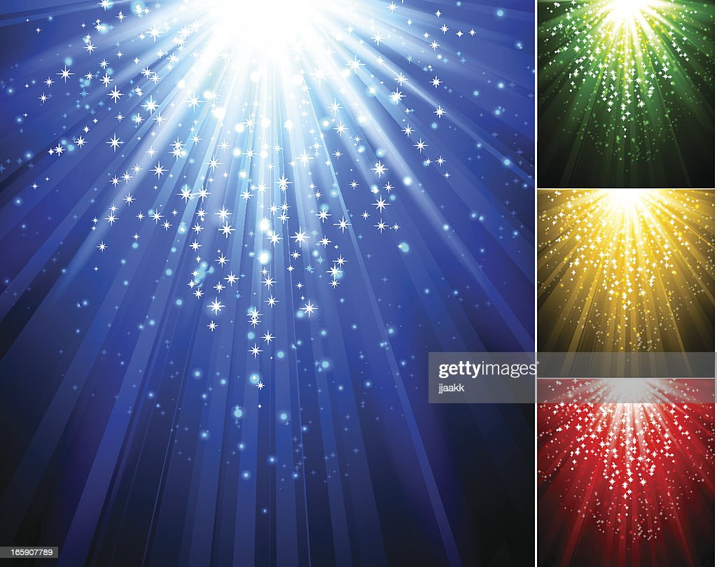 Abstract magik light background