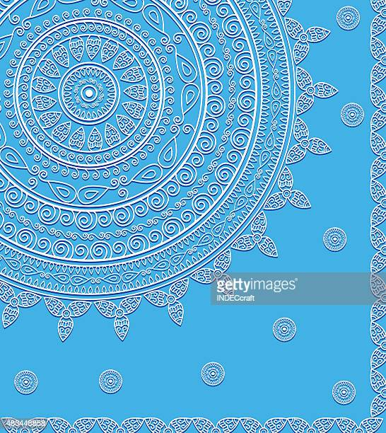 Design abstrato Mandala