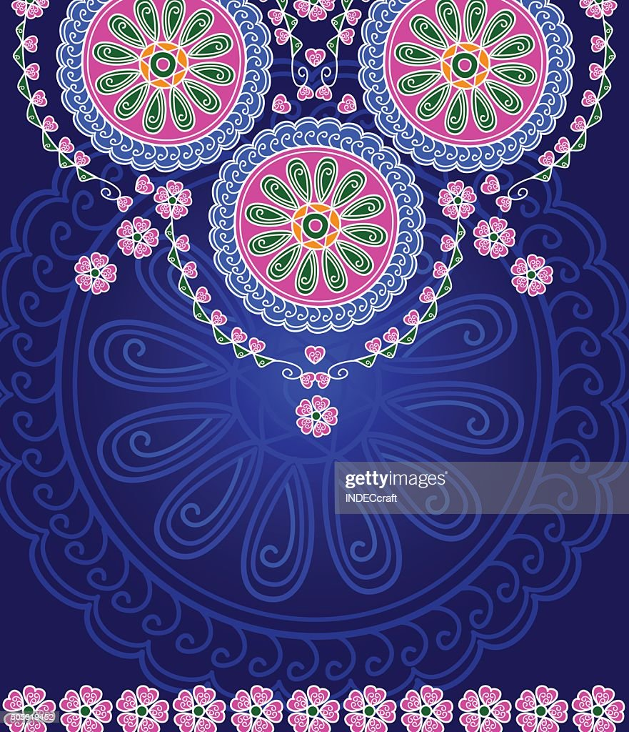 Abstract Mandala Design