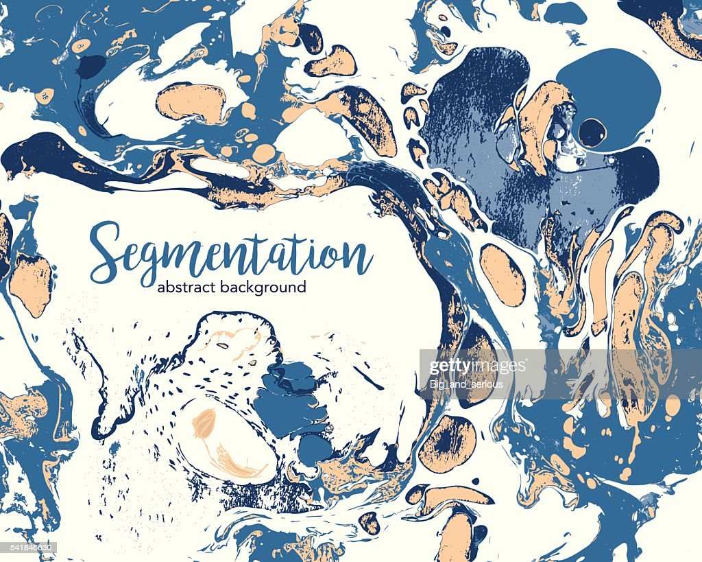 Abstract marbling vector background