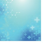 Abstract medical technology background.