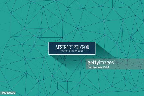 ilustrações de stock, clip art, desenhos animados e ícones de abstract mesh background with circles, lines and shapes - atomic imagery
