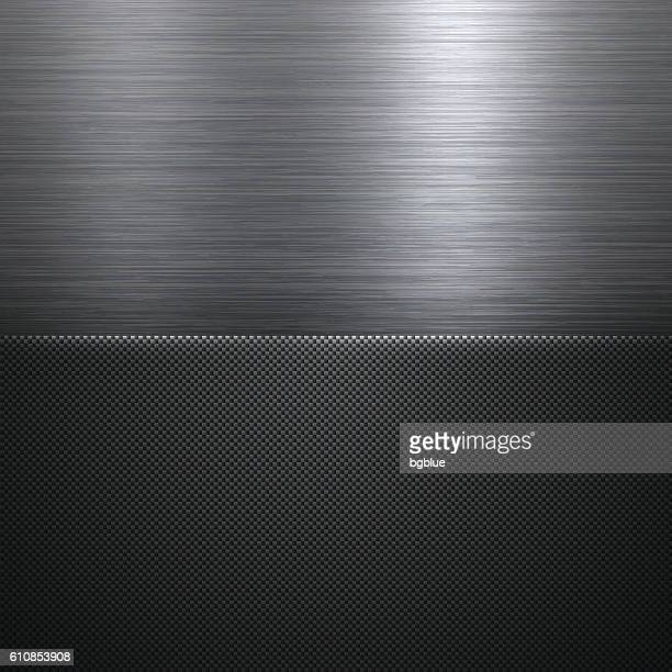 Abstract Metal Background - Carbon Fiber Texture