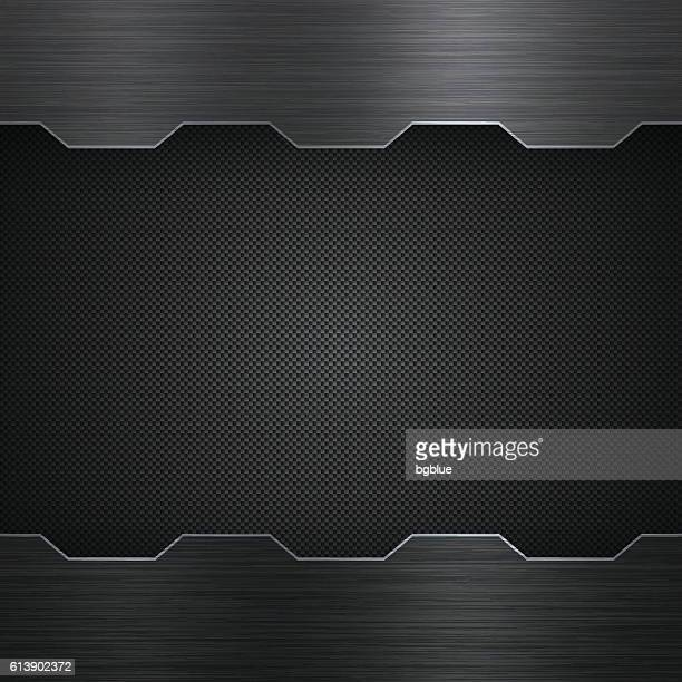 abstract metal background - carbon fiber texture - metal stock illustrations