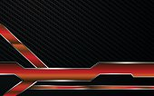 abstract metallic red frame tech racing technology innovation concept background