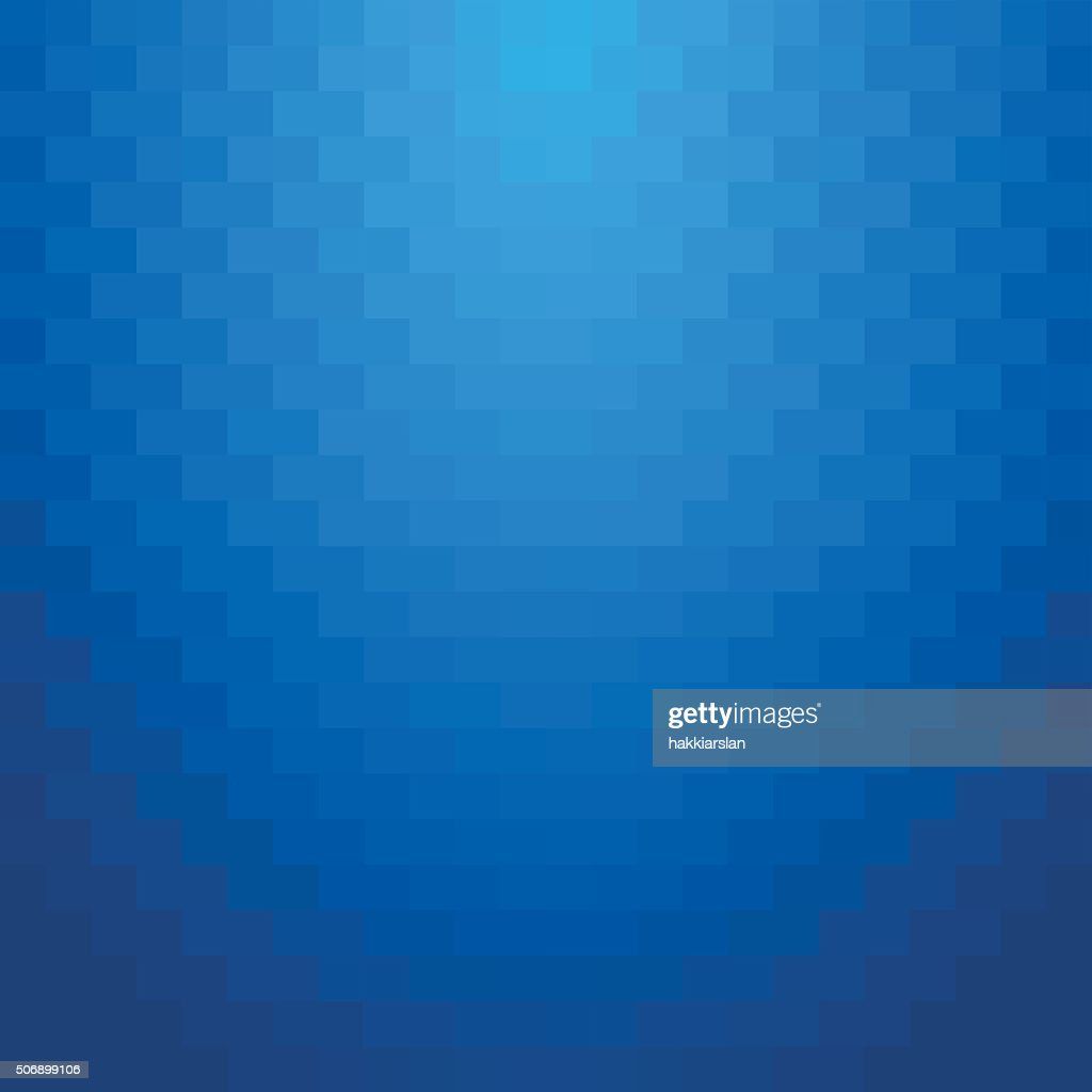 Abstract minimal background blue squares.