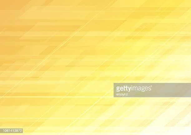 abstrakten modernen hintergrund - gelb stock-grafiken, -clipart, -cartoons und -symbole