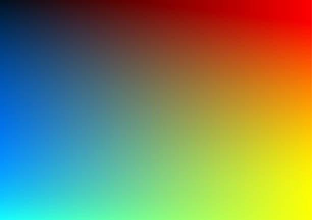 abstract modern background - rainbow stock illustrations