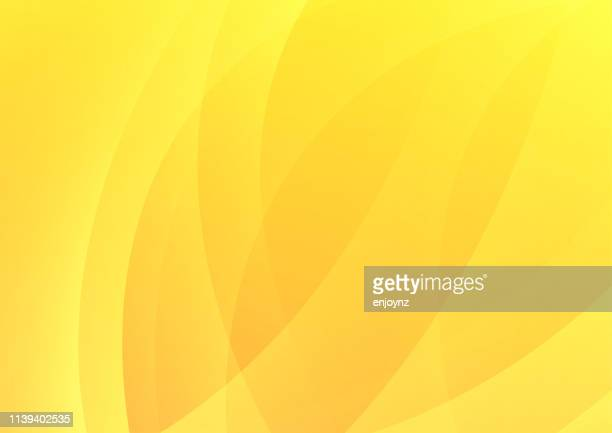 abstract modern background - yellow stock illustrations