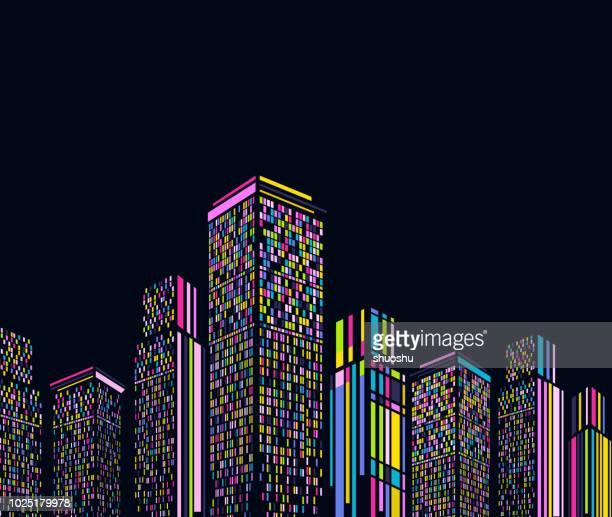 Abstrakte moderne Gebäude Hintergrund