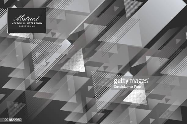 Abstrakten modernen geometrischen dunklen Hintergrund