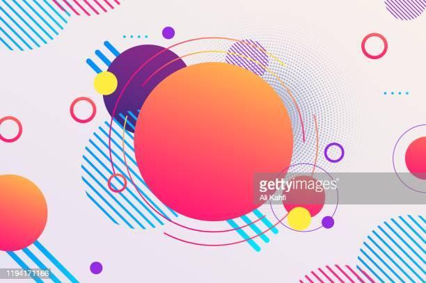 abstract modern geometric sale banner template for web social media promotion editable vector design - newsletter stock illustrations