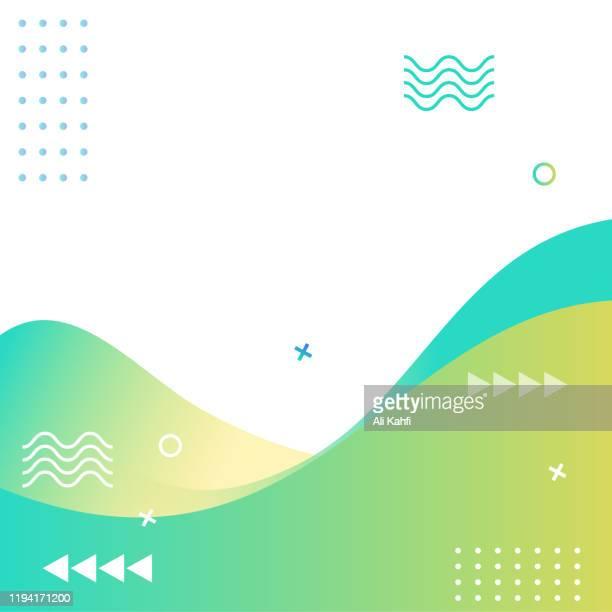 ilustrações, clipart, desenhos animados e ícones de resumo modern geometric sale banner modelo para web social media promotion editable vector design - filtro de pós produção automática