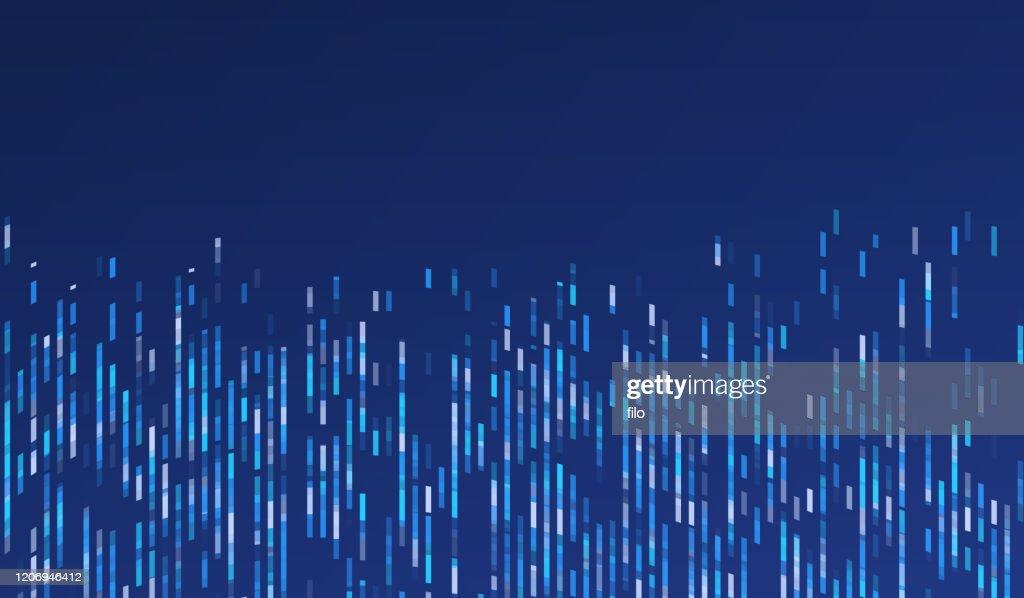Abstrakte moderne Forschung und Datenhintergrund : Stock-Illustration