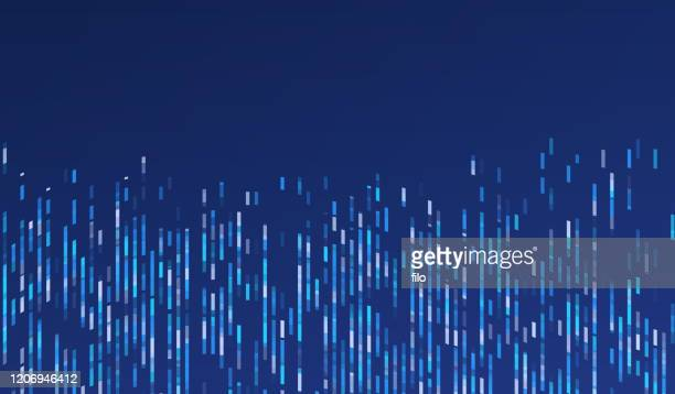 abstract modern research and data background - computer graphic stock illustrations