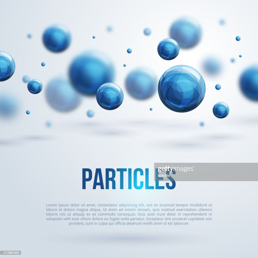 Abstract molecules design.