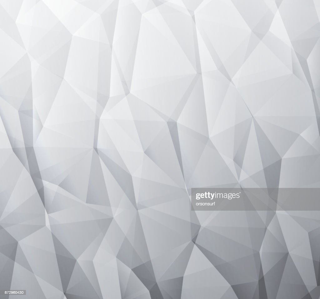 Abstract monochromatic background made from triangles
