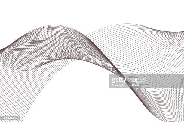 abstract motion wave background - single line stock illustrations