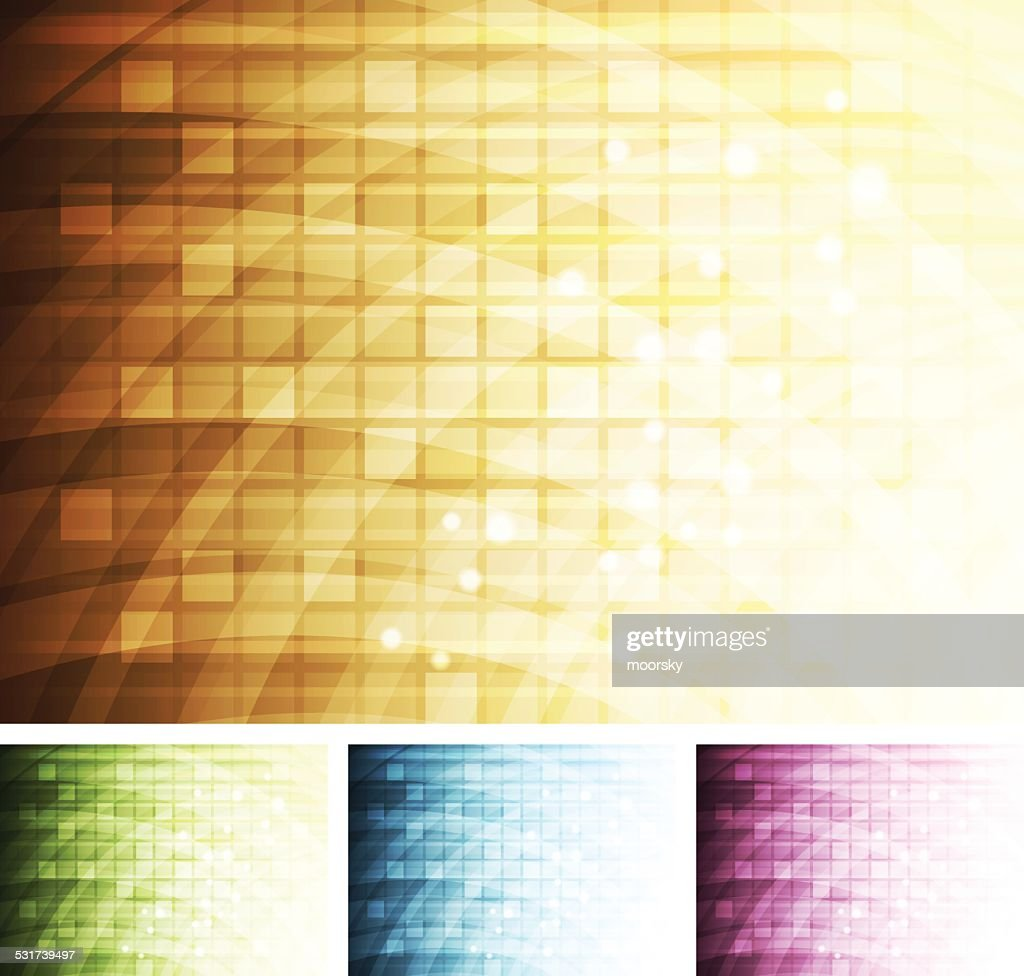Abstract multi-coloured background
