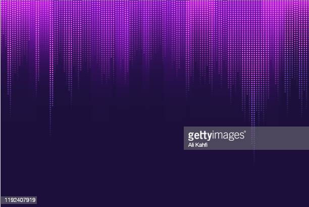 abstract music background - colors soundtrack stock illustrations