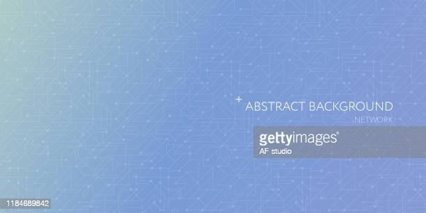 abstract network background. blockchain.neural network. - artificial neural network stock illustrations
