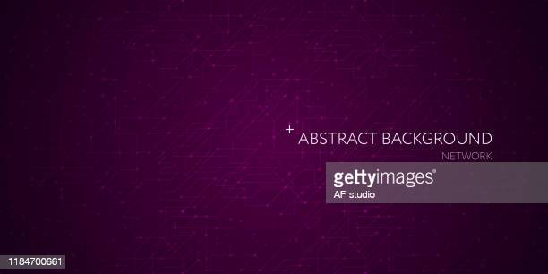 abstract network background. blockchain.neural network. - af-studio stock illustrations