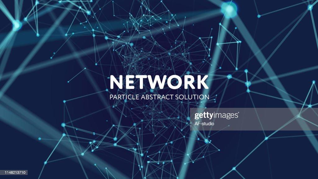 Sfondo di rete astratto : Illustrazione stock
