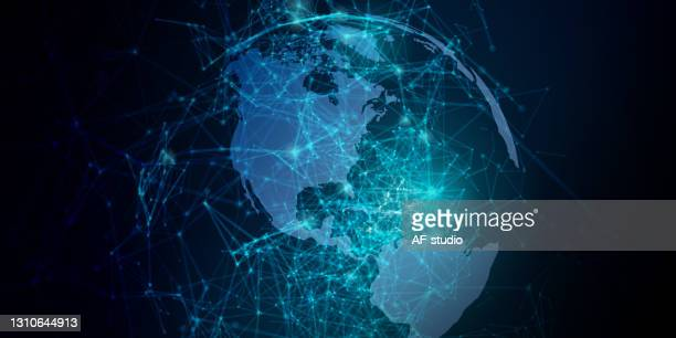 abstract network background - af-studio stock illustrations