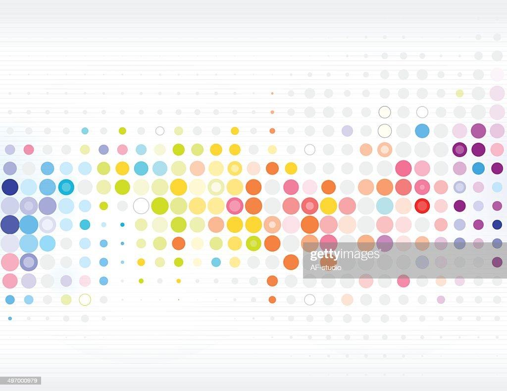 抽象的なネットワークの背景 : ストックイラストレーション