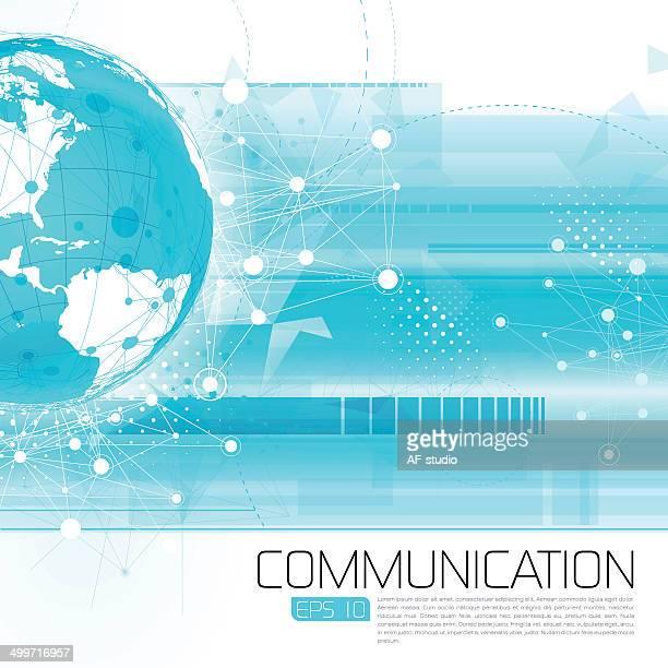 ilustrações, clipart, desenhos animados e ícones de abstrato fundo de rede - negócios finanças e indústria