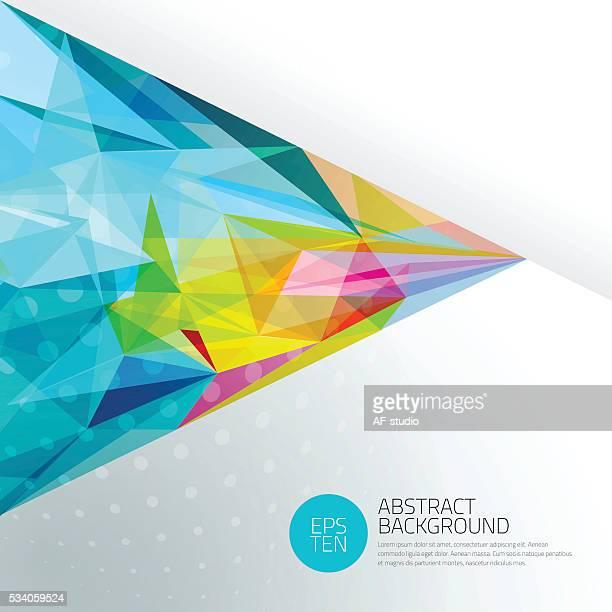 Abstrakte Netzwerk Hintergrund