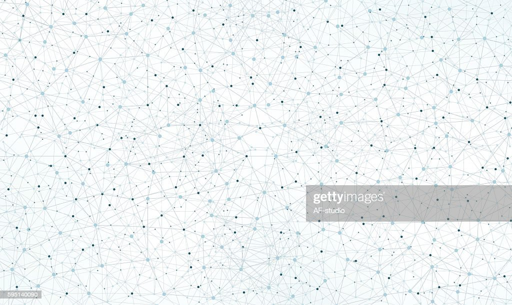 Abstract Network Background : stock illustration