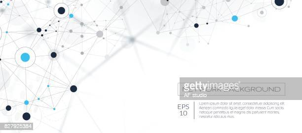abstract network background - technology stock illustrations, clip art, cartoons, & icons