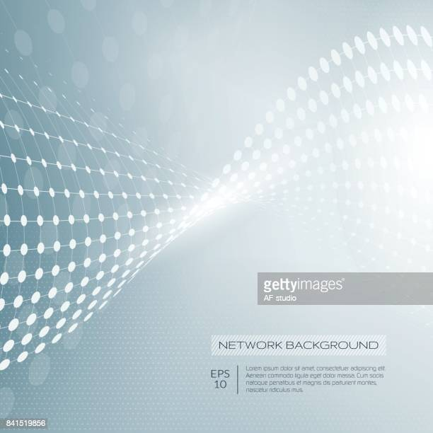 abstract network background - technology background stock illustrations, clip art, cartoons, & icons