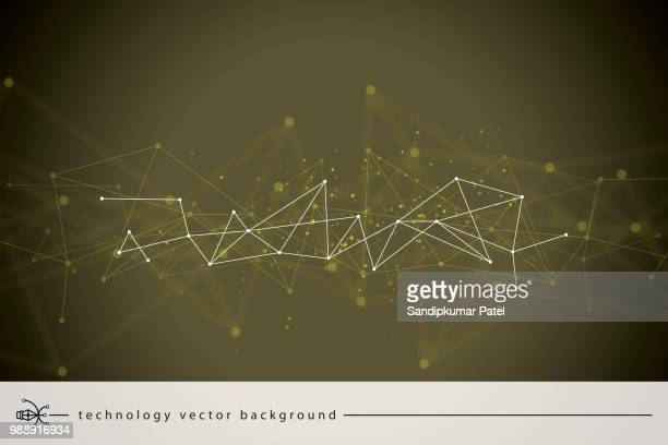 abstract network background - queuing stock illustrations