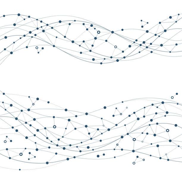 抽象網路 - 聯繫 幅插畫檔、美工圖案、卡通及圖標