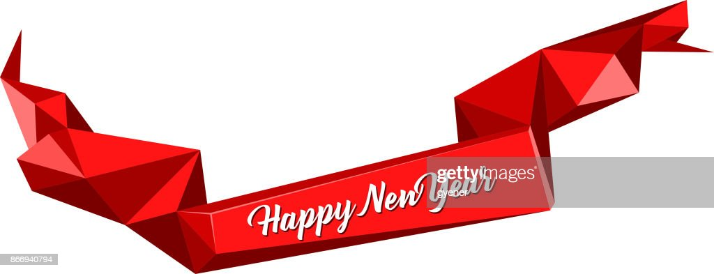 abstract new year banner vector art