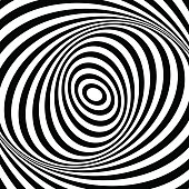 Abstract op art background.