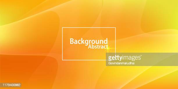 abstract orange and yellow background - orange background stock illustrations