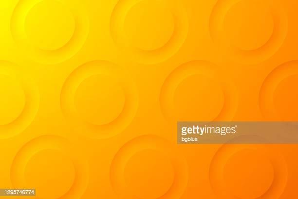 abstrakte orange hintergrund - geometrische textur - gelber hintergrund stock-grafiken, -clipart, -cartoons und -symbole