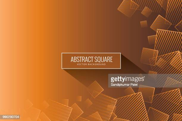 abstract orange background - asymmetry stock illustrations