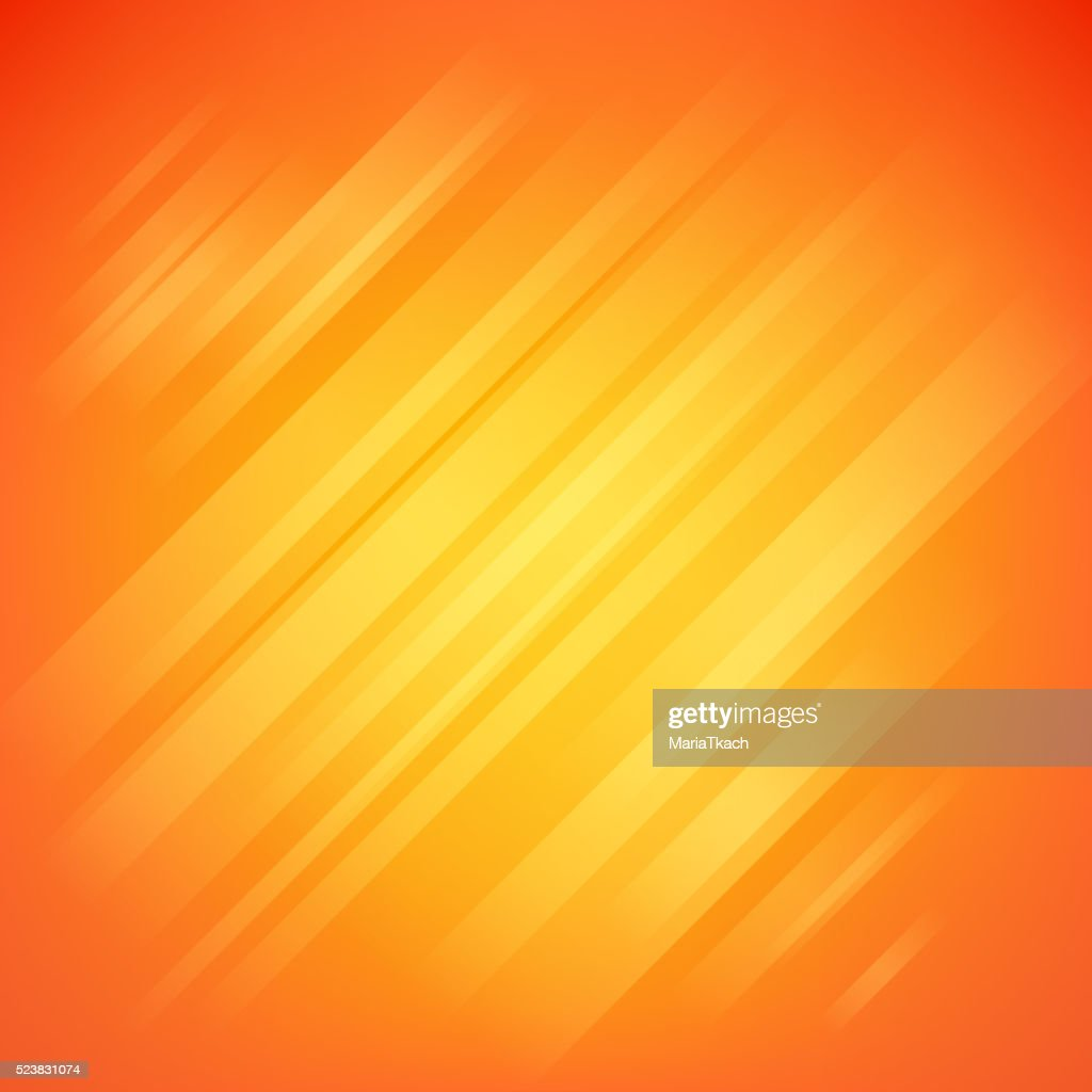 Abstract orange glow vector background