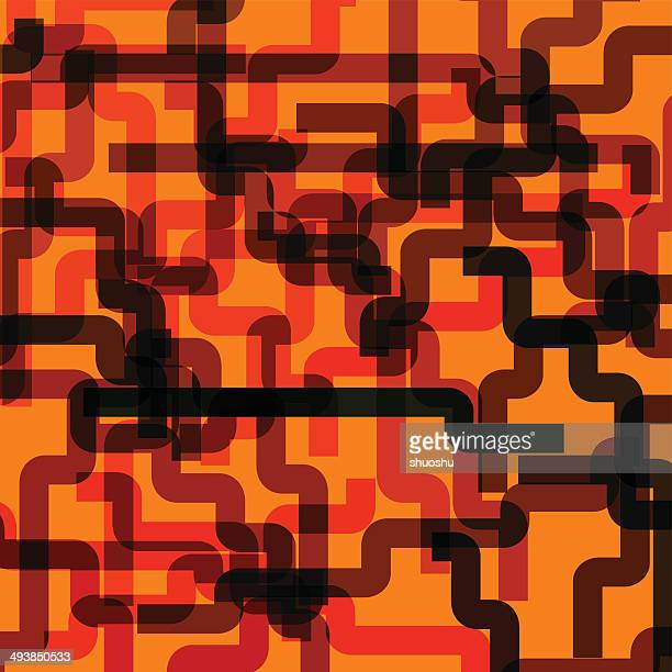 abstract orange stripe pattern background
