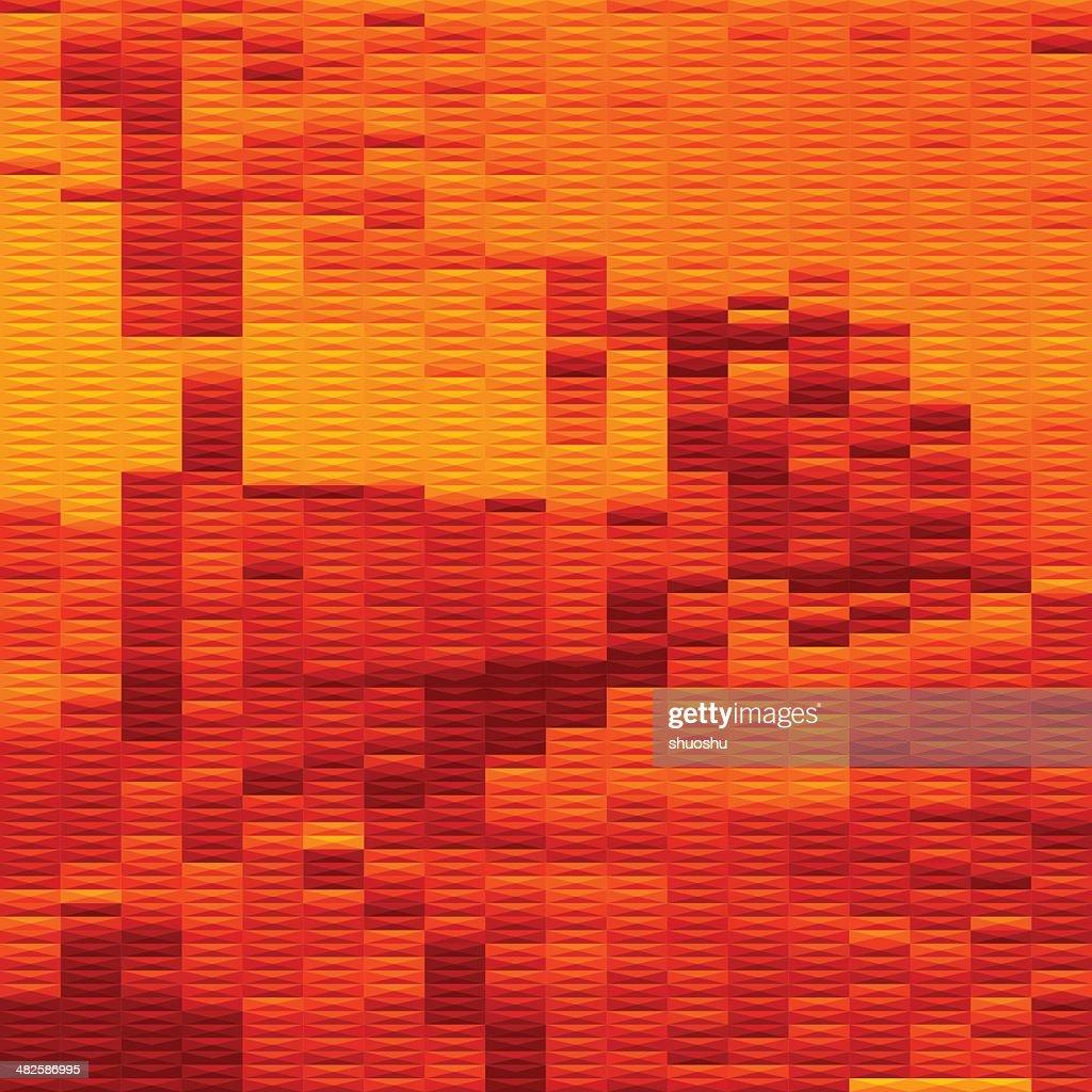abstract orange stripe texture background