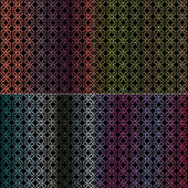 abstract ornate hombre patterns